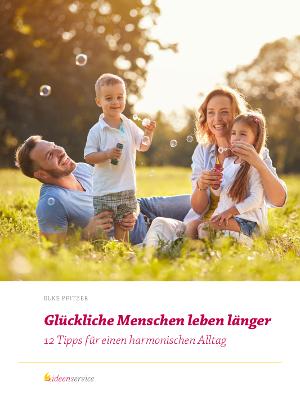 Glückliche Menschen leben länger