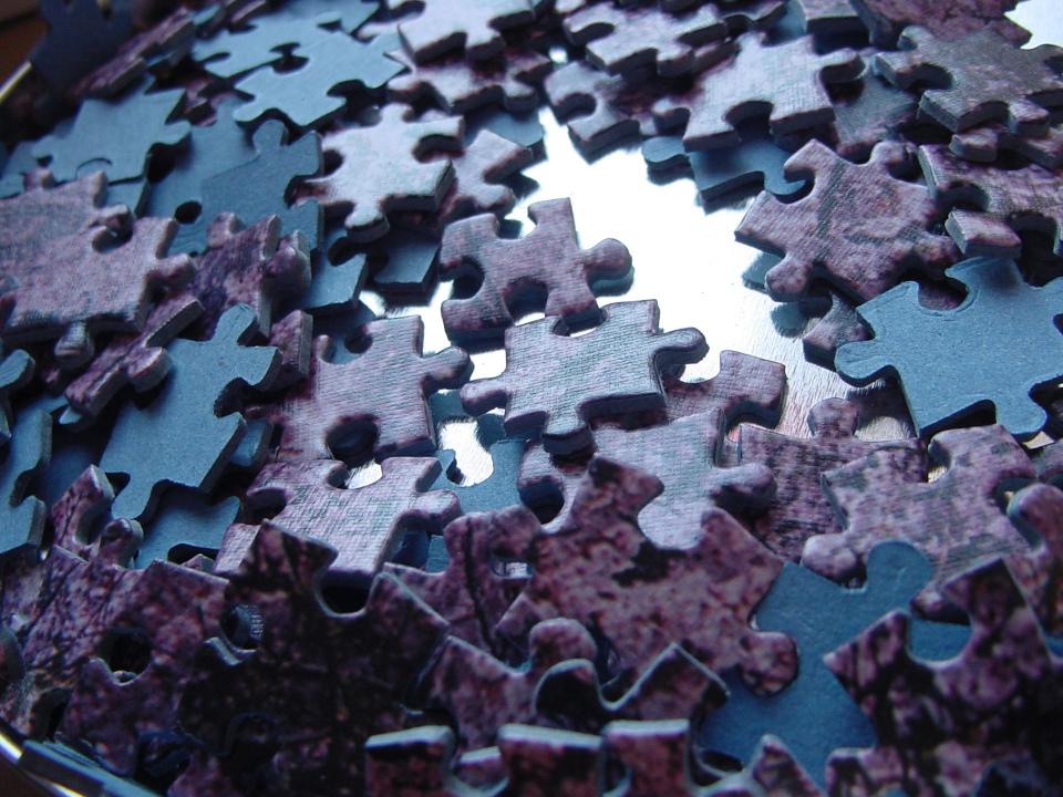 Das Leben gleicht einem grossen Puzzle.